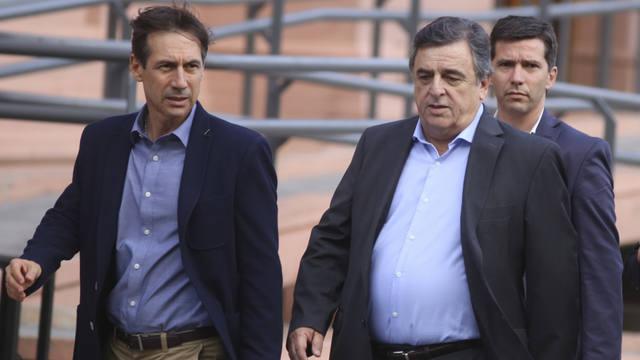FOTO: Naidenoff y Negri, sobre los gobernadores: