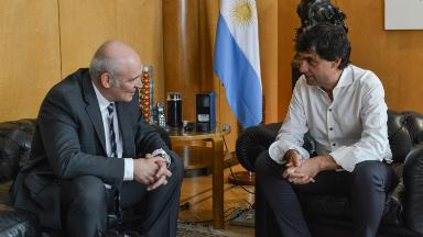 AUDIO: Lacunza se reunió con el candidato José Luis Espert