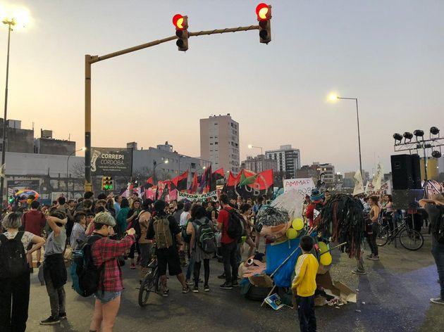 """FOTO: Marcha contra el """"gatillo fácil"""" en Córdoba."""
