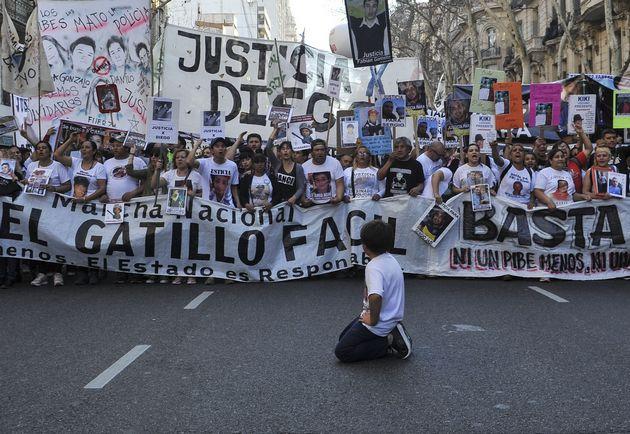 AUDIO: Quinta marcha nacional contra el