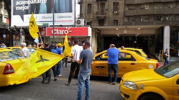 FOTO: Marchas taxis