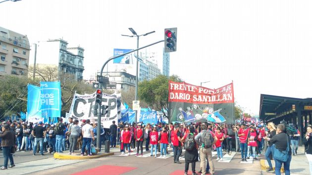 AUDIO: Caos en el tránsito por protestas