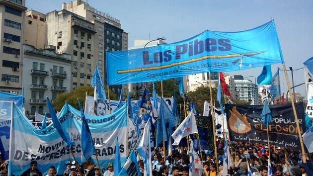 FOTO: Marcha (Fotos de Franco Fafasuli y Thomas Khazki)