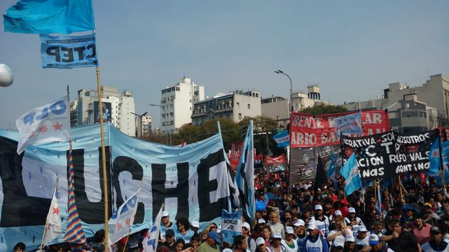 FOTO: Marchas en buenos aires