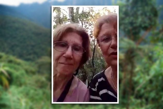Se perdieron en un bosque y grabaron un desopilante pedido de rescate