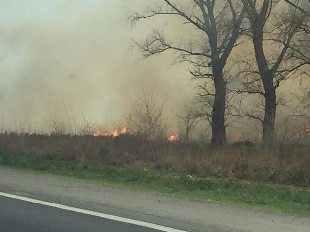 VIDEO: Incendio Autopista Rosario- Santa Fe