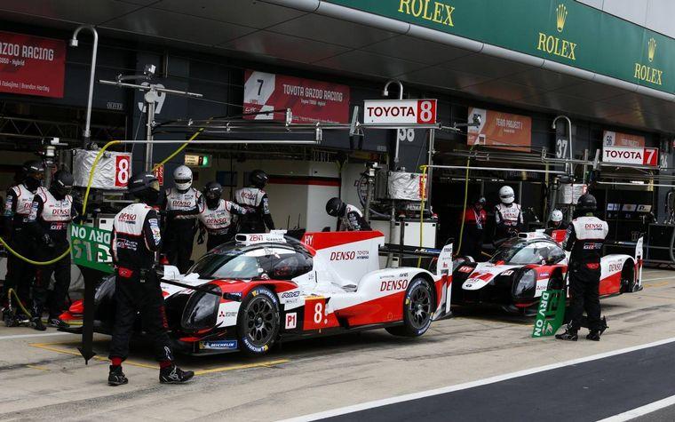 FOTO: Salvo en FP1,  el Toyota #7 siempre fue el más rápido en la pista