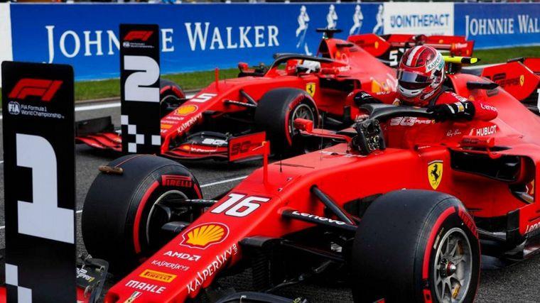 FOTO: Leclerc ya viene en 8va marcha a toda velocidad para cerrar su 3ra pole en Spa