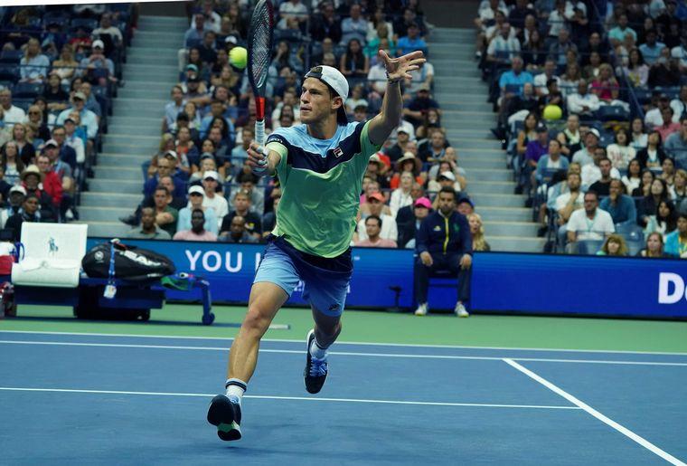 FOTO: El argentino Diego Schwartzman, único sudamericano en el US Open