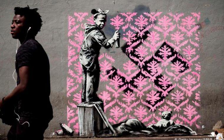 FOTO: Obras de arte de Bansky