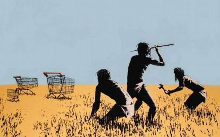 FOTO: ¿Rata contra el capitalismo?