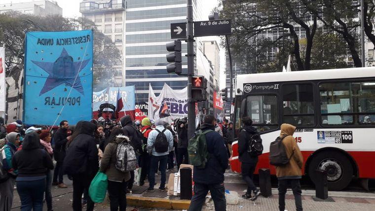 AUDIO: En Córdoba organizaciones también realizaron acampes (Por Juan Pablo Viola)