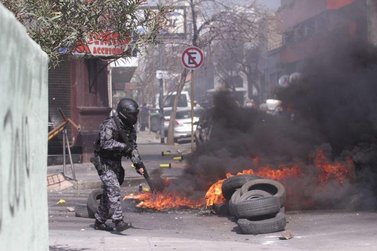 FOTO: Incidentes Luz y Fuerza - Epec
