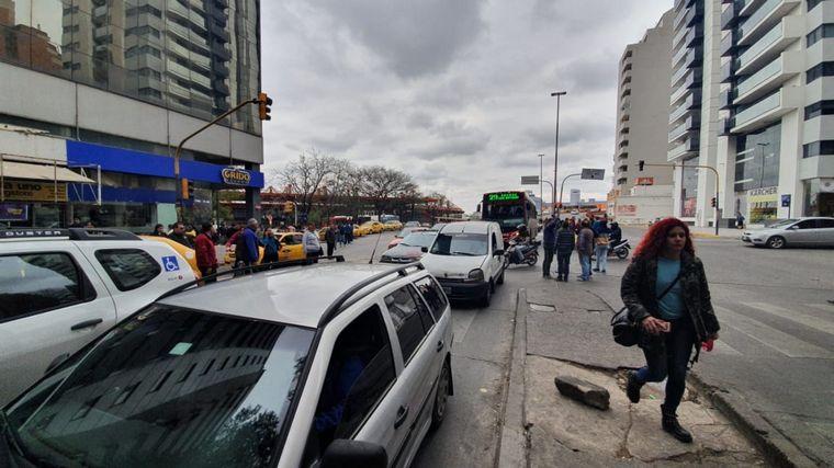 FOTO: Protesta contra Uber