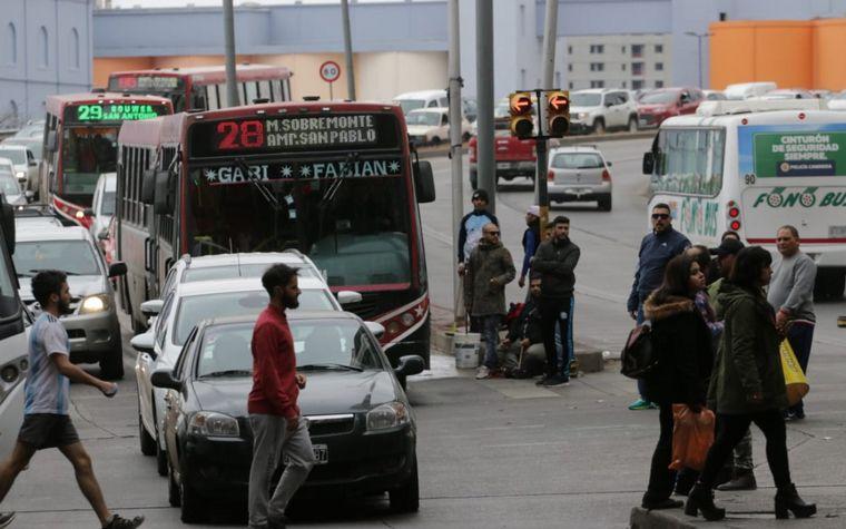 FOTO: Caos en Córdoba por protesta de taxistas.