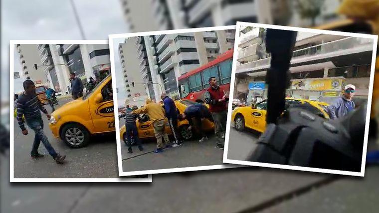 AUDIO: Agredieron al fotógrafo de Cadena 3 Daniel Cáceres en la protesta anti Uber