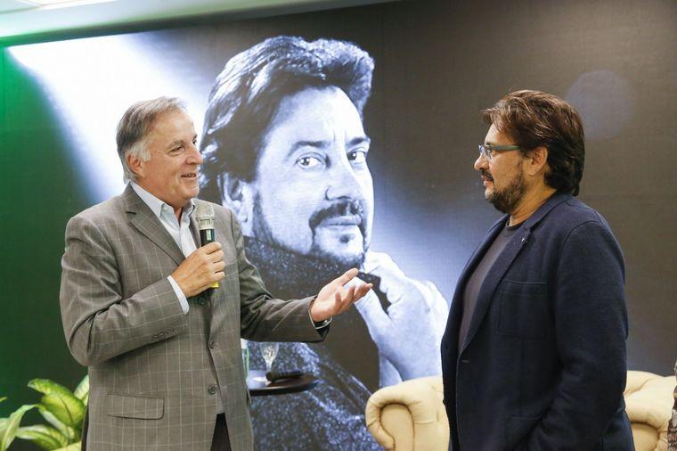 FOTO: Marcelo Álvarez brindó una cálida y emotiva charla en Bancor