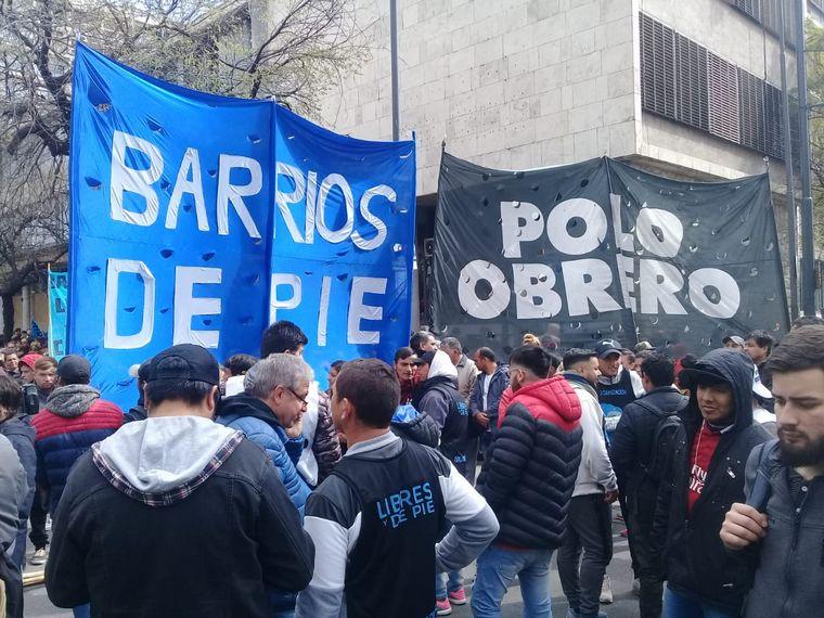 FOTO: Protestas en Córdoba Polo Obrero - Barrios de Pie