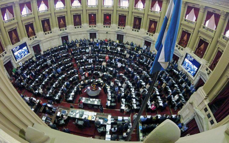 FOTO: Cámara de Diputados de la Nación.