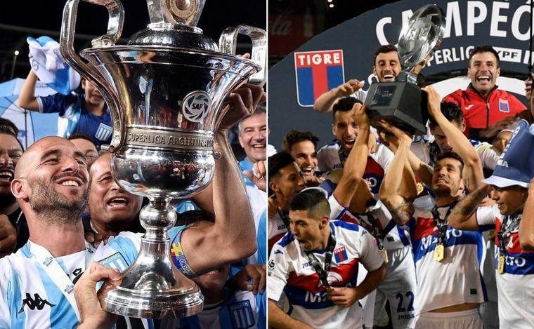 Superliga confirma el nuevo torneo argentino que definirán Racing y Tigre — Oficial