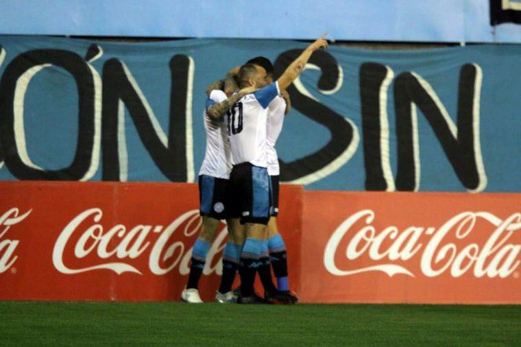 AUDIO: 3º Gol de Belgrano (Joaquín Novillo)