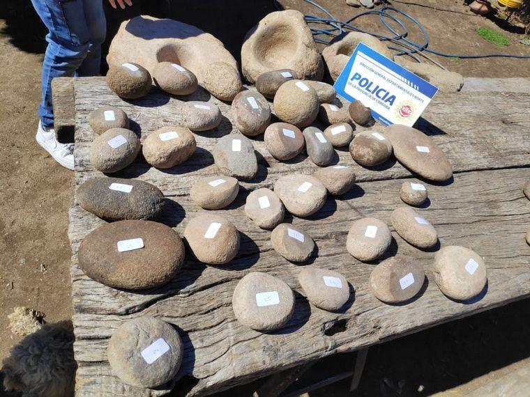 AUDIO: Secuestran 74 piezas arqueológicas en una casa de Carlos Paz (por Miguel Clariá)