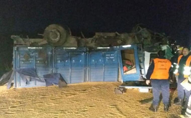 FOTO: Un joven murió por un accidente en Laborde