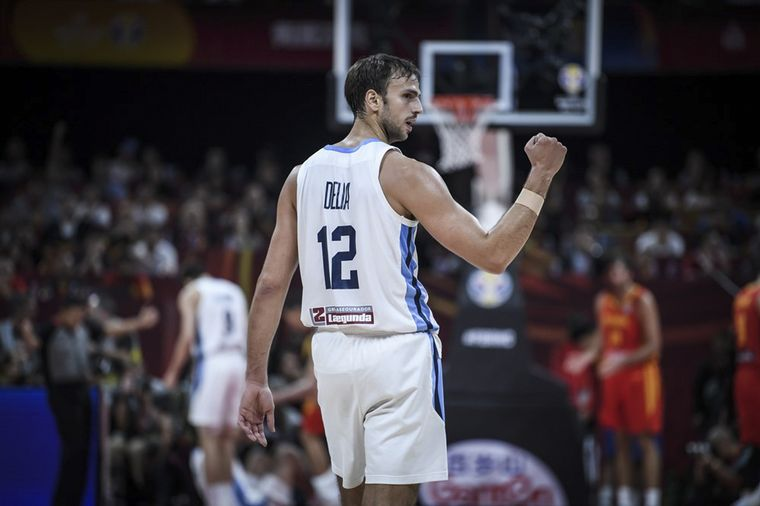FOTO: Final Argentina España basquet