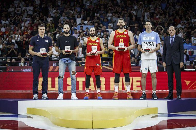 FOTO: Final Argentina España Básquet