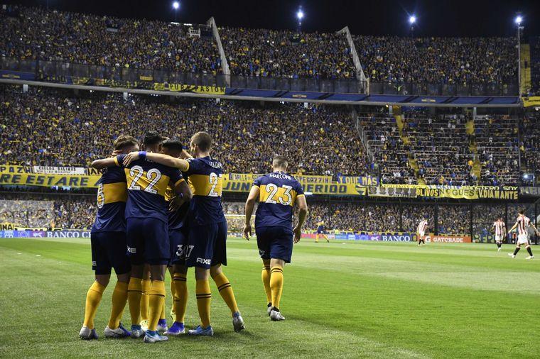 AUDIO: 1º Gol de Boca (Reynoso)