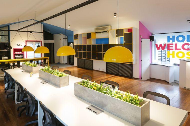 FOTO: Estos espacios colaborativos son ámbitos confortables y descontracturados.