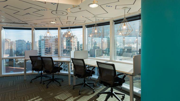 FOTO: Los usuarios del coworking tienen acceso a salas de reuniones y capacitación.