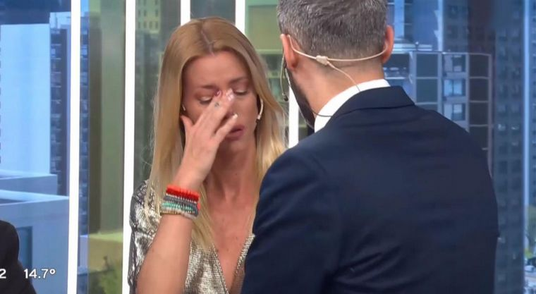 """FOTO: Según Ángel de Brito, Nicole dijo: """"Me quieren ver muerta""""."""