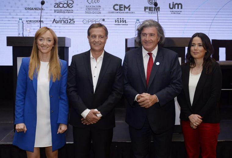 AUDIO: Debatieron los candidatos a gobernador de Mendoza (Informe de Luis O. Castro)