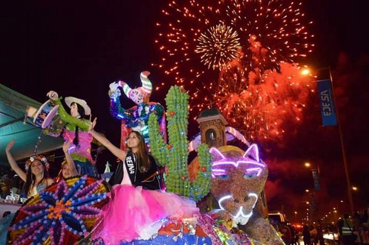 FOTO: Desfile de carrozas por la Primavera en Jujuy