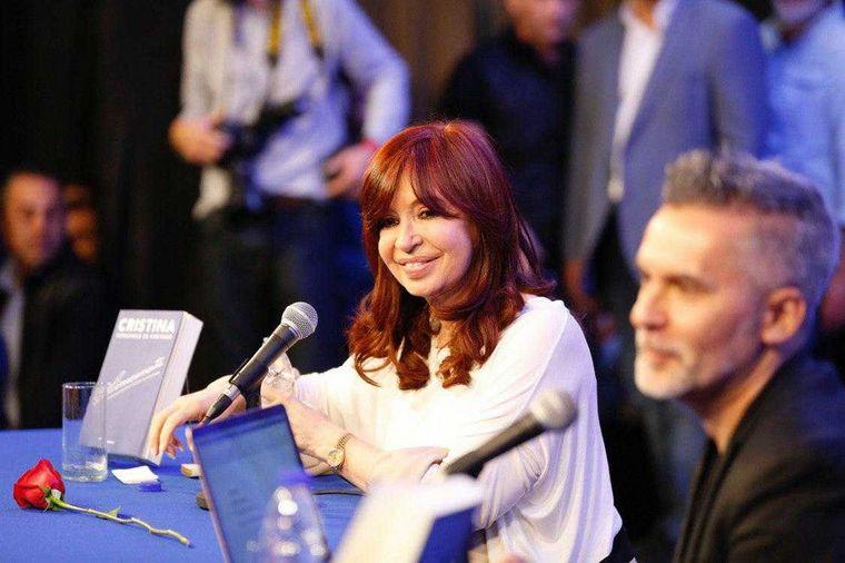 "FOTO: ""La Argentina que viene es una Argentina compleja"", dijo CFK."