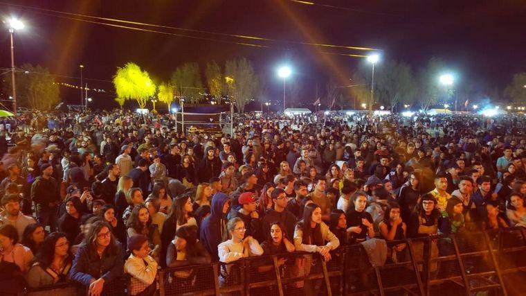 FOTO: Locutores de FM Cordoba en Fiesta de la Primavera 2019