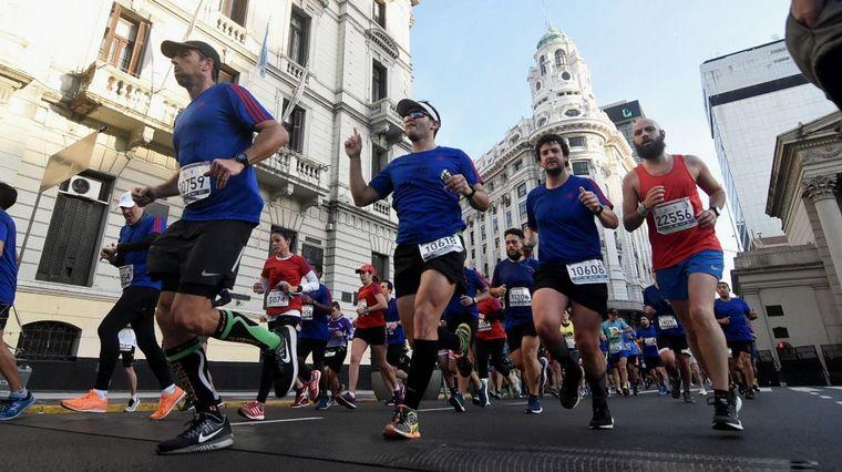 FOTO: Maratón de Buenos Aires