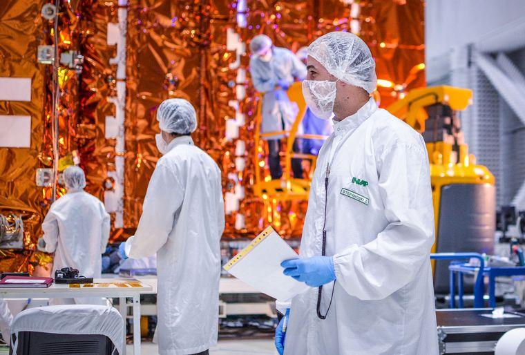 AUDIO: Club de Ciencia Cordobés generó un intercambio con científicos del Saocom.