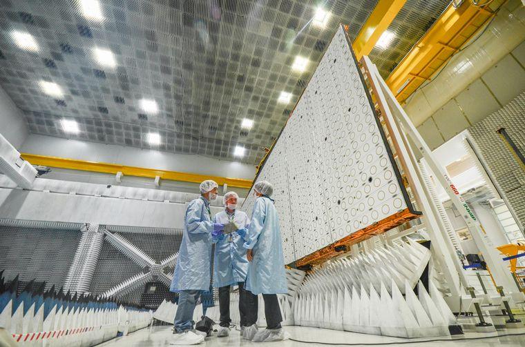 FOTO: Saocom 1B será lanzado desde Estados Unidos.