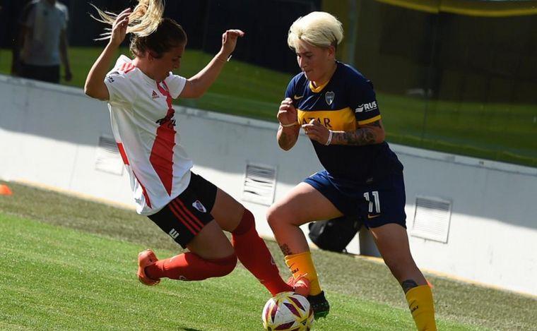 FOTO: Fútbol femenino: River vs Boca