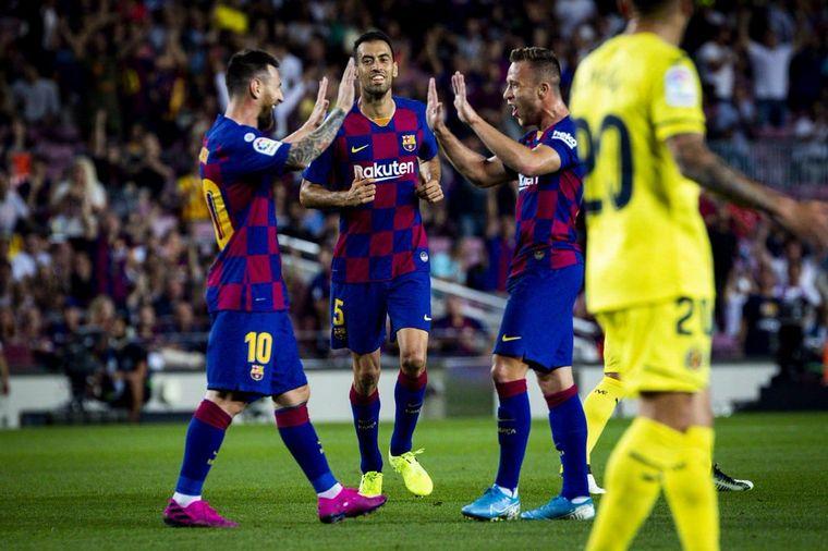 FOTO: Messi debió ser reemplazado en el entretiempo.