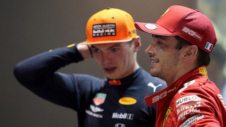 FOTO: El alemán no quedó contentó porque Lecler no lo llevó en succión en Monza