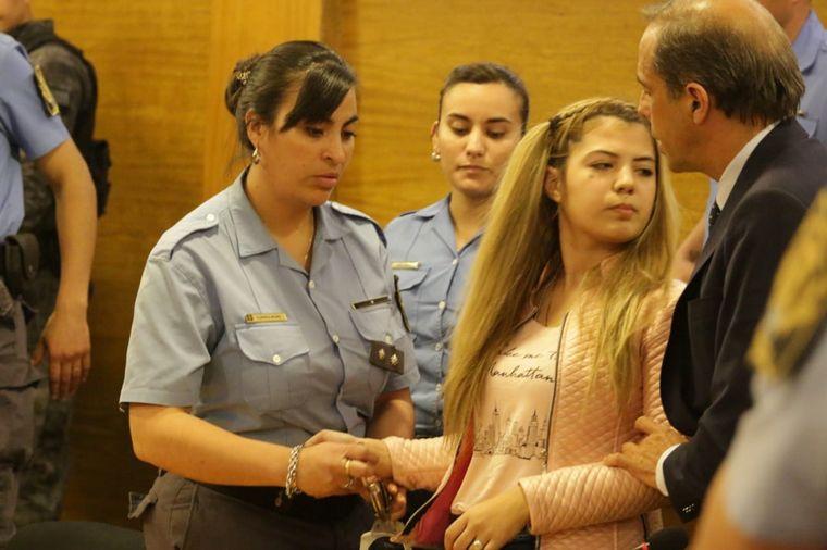 FOTO: Incidentes en Tribunales tras la sentencia contra Barattini