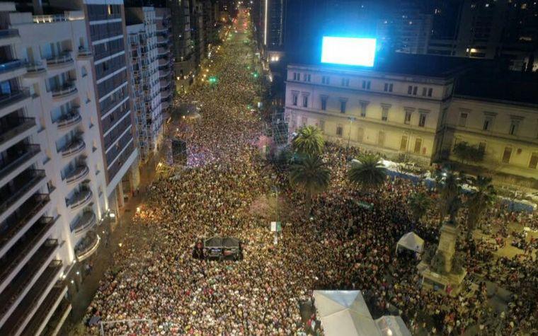 FOTO: La Barra festejó 25 años a lo grande en Córdoba.