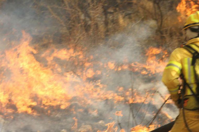 FOTO: Incendios Mina Clavero