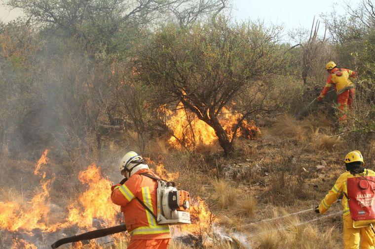FOTO: Se quemaron 10 mil hectáreas en Córdoba (Foto de archivo)
