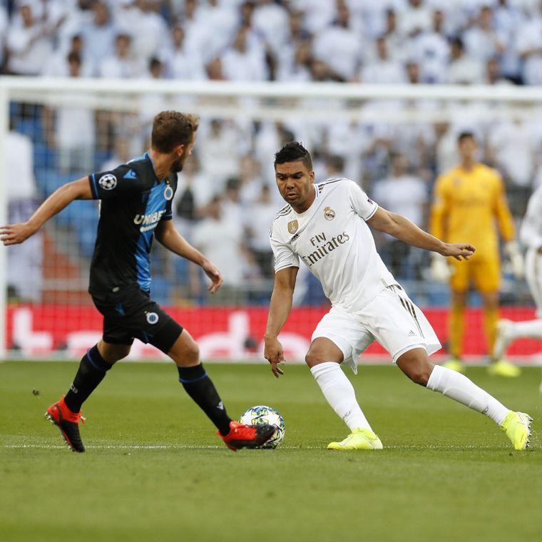 FOTO: Real Madrid rescató un empate sobre el final ante Brujas.