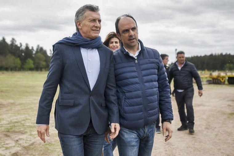 FOTO: Mauricio Macri, en Esperanza, Santa Fe