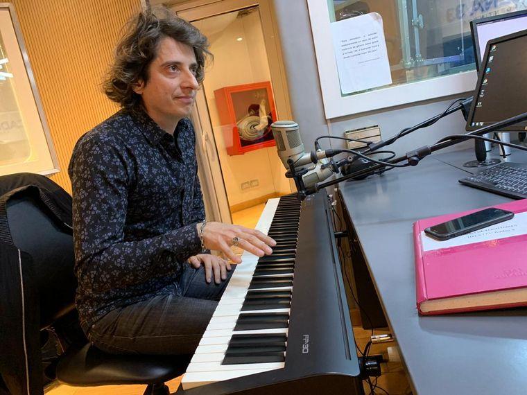 FOTO: Roman Ramonda, en Viva la Radio.